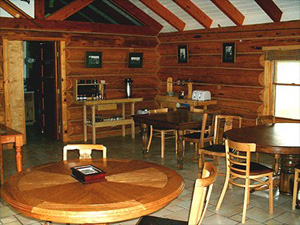 Orvis Dining Hall at Tower Rock Lodge